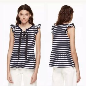 Kate Spade lace up top